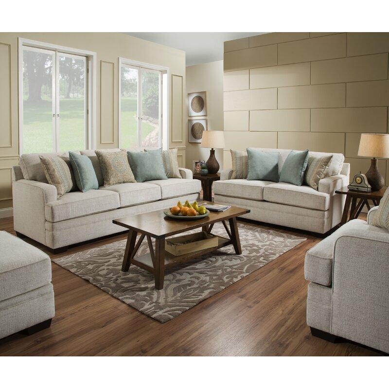 Three Posts Hattiesburg Configurable Living Room Set By Simmons