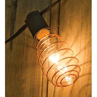 Johnone Edison 10 ft. 10-Light Globe String Lights