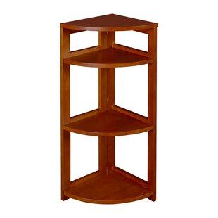 Best Choices Flip Flop Folding Corner Unit Bookcase by Regency