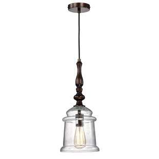 Williston Forge Io 1-Light Bell Pendant