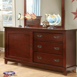 Harriet Bee Altieri 3 Drawer Combo Dresser