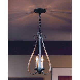 Sweeping Taper 3-Light Lantern Pendant by Hubbardton Forge