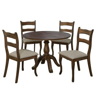 Heslin 5 Piece Dining Set