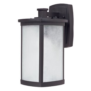 Compare prices Ina 1-Light Outdoor Wall Lantern By Latitude Run
