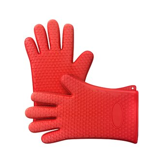 Silicone Double Oven Mitt by Chef Buddy