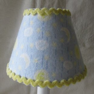 Celestial Moons and Stars 11 Fabric Empire Lamp Shade
