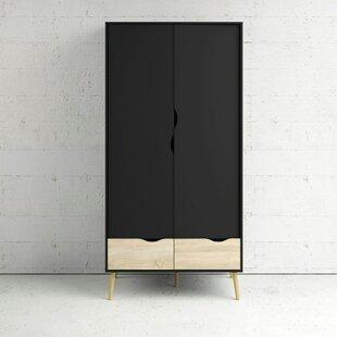 Capote 2 Door Wardrobe By Ebern Designs