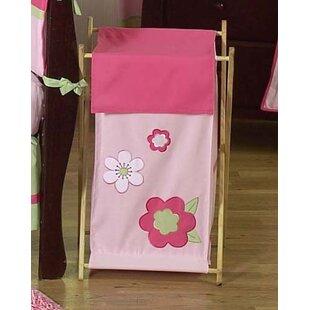 Sweet Jojo Designs Flower Laundry Hamper