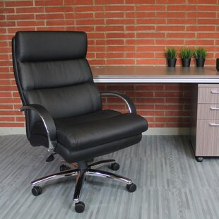 Hendershot Executive Chair by Latitude Run Great price