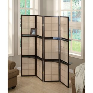 Faszcza 4 Panel Room Divider by Red Barrel Studio