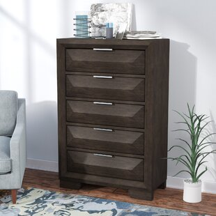Richburg 5 Drawer Standard Chest