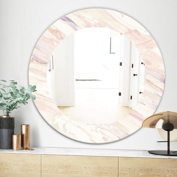 East Urban Home Copper Dreams Geometric Shabby Elegance Traditional Wall Mirror Wayfair