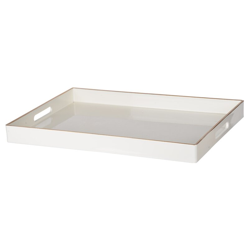 Landsdowne Coffee Table Tray by Beachcrest Home