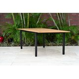 Onamia Extendable Solid Wood Dining Table