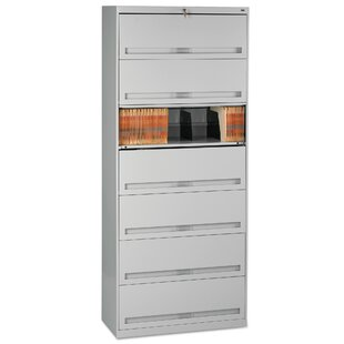 Closed Fixed 7-Shelf Vertical Filing Cabinet by Tennsco Corp. Wonderful