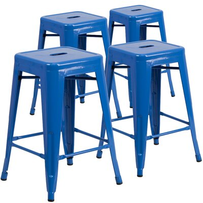 Blue Counter Height Stools You Ll Love In 2019 Wayfair