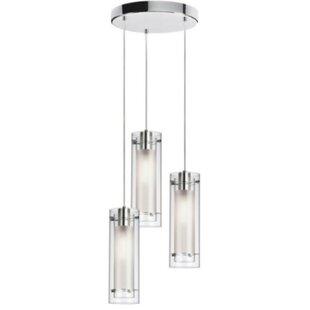 Orren Ellis Johnstown 3-Light Cluster Pendant