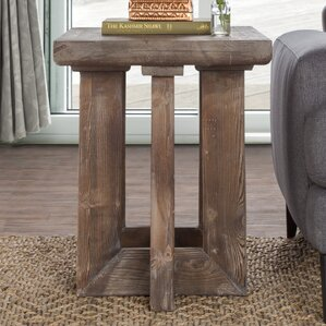 Pinellas Reclaimed Pine End Table by Bungalo..