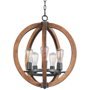 Orly 5-Light Foyer Pendant