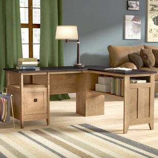 Mirabel L-Shape Executive Desk by Three Posts #1
