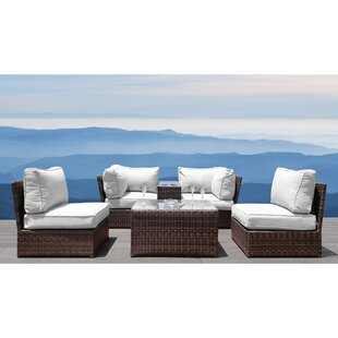 Vasil 6 Piece Sectional Set with Cushions
