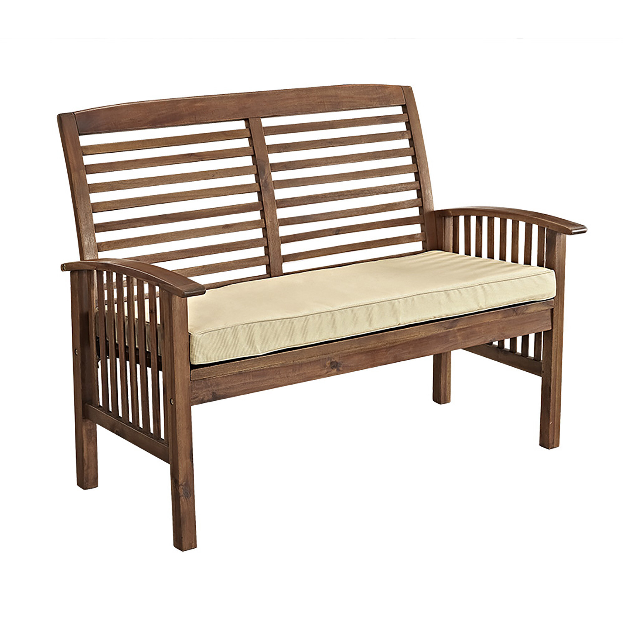 Darby Home Co Widmer Patio Loveseat & Reviews