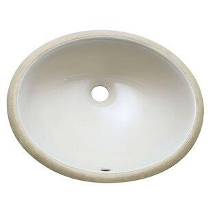 Avanity Ceramic Oval Under..