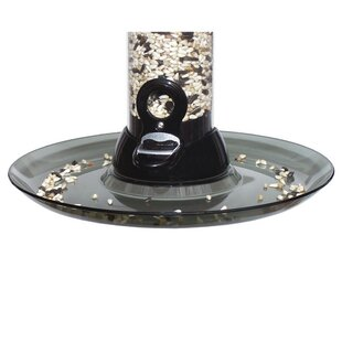 Droll Yankees Smoke Clever Clean Seed Tray Bird Feeder
