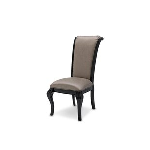 Hollywood Swank Starry Night Uholstered Dining Chair Michael Amini