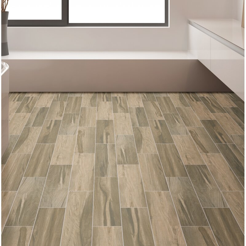 Msi Carolina Timber Saddle 6 X 36 Ceramic Wood Look Tile In Beige