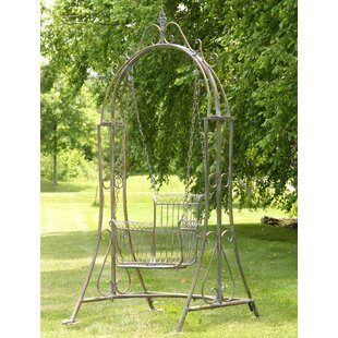 Carey Porch Swing with Stand by Fleur De Lis Living