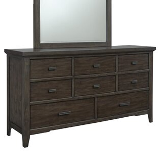 Union Rustic Giana 8 Drawer Dresser
