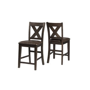 Gracie Oaks Balster Spencer Bar Stool (Se..