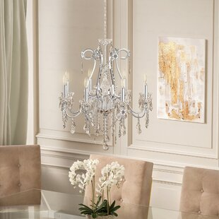 Rosdorf Park Thao 8-Light Candle Style Ch..