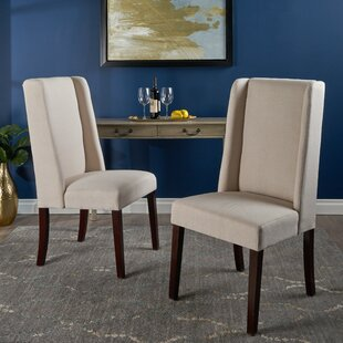 Blaisdell Upholstered Dining Chair (Set of 2) Alcott Hill