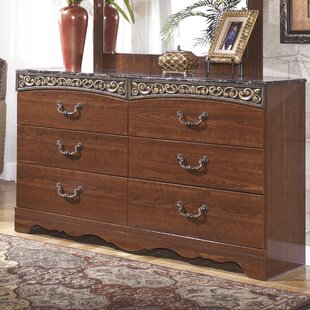 Viburnum 6 Drawer Double Dresser