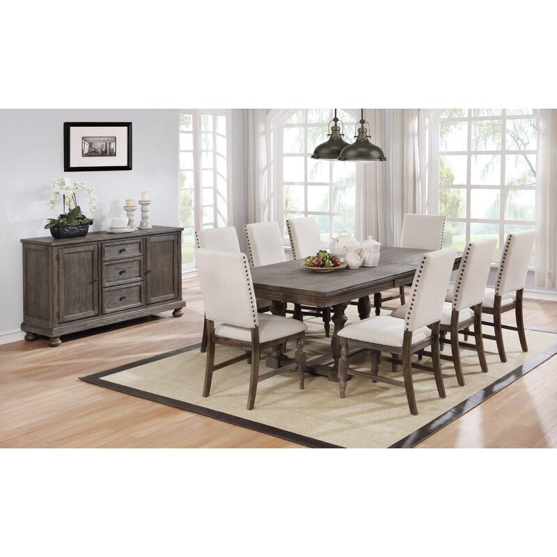 Tara 9 Piece Extendable Dining Set