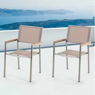 Maxton Stacking Garden Chair (Set Of 2) By Ebern Designs