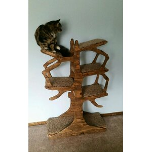 Handmade Inspired Cat Tree