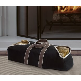 Firewood Canvas Bag By Pleasant Hearth