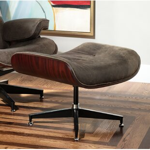 Clint Swivel Leather Ottom..
