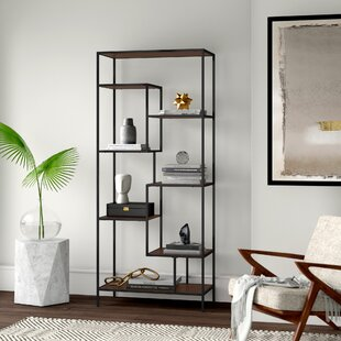 Lauber Framed Etagere Standard Bookcase by Mercury Row