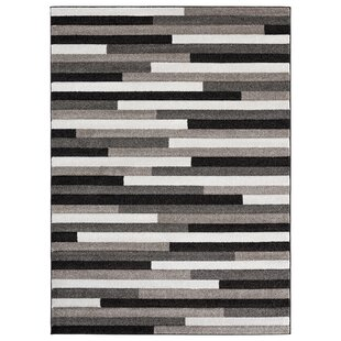 Moerchen Oriental Low Pile Turkish Black/Brown/Gray Indoor/Outdoor Area Rug