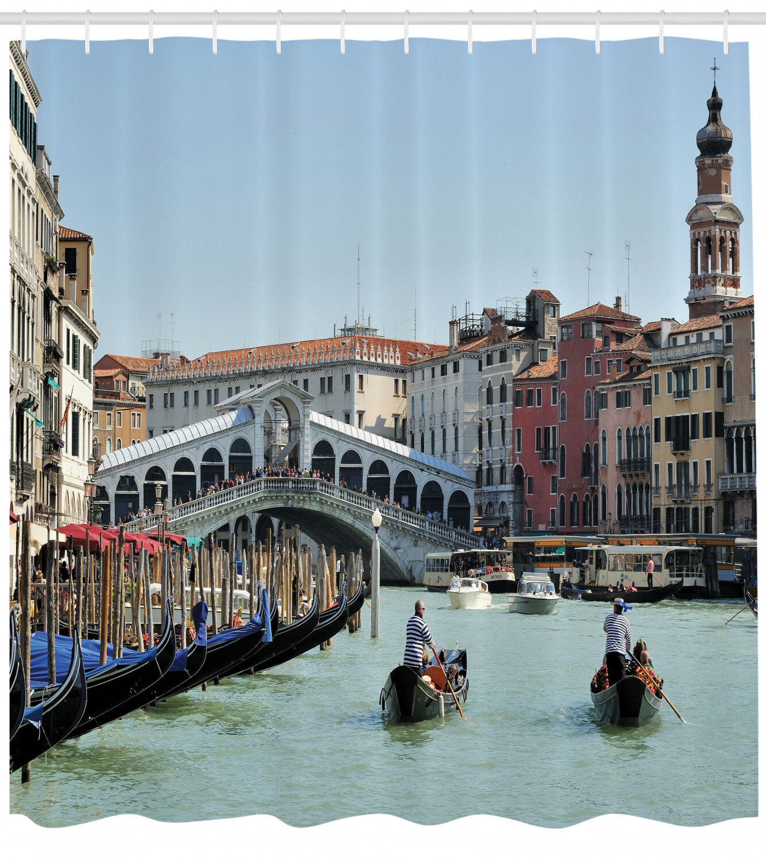 East Urban Home Italy Shower Curtain Set Hooks Wayfair