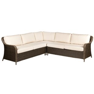 Savannah Patio Sectional by Woodard Reviews
