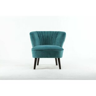 Waverly Hall Slipper Chair by Everly Quinn