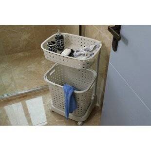 laundry hamper on wheels amazon tier plastic laundry hamper with wheels wayfair