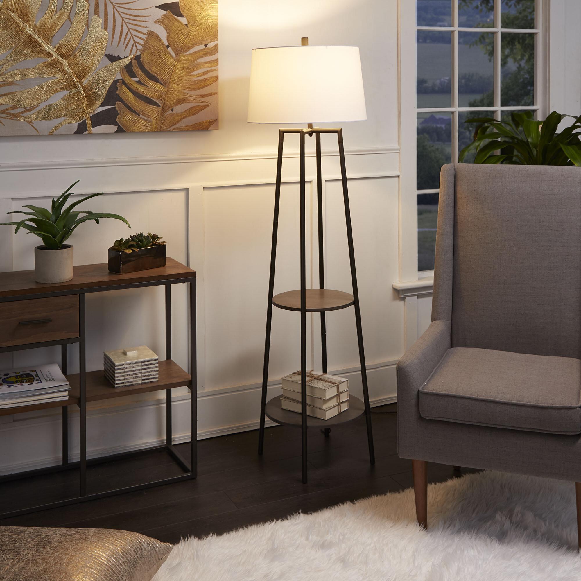 Brayden Studio Bart Floor Lamp With