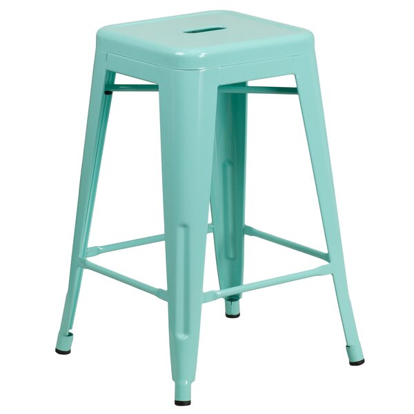 Excellent Modern Contemporary 25 Inch Counter Stool Allmodern Caraccident5 Cool Chair Designs And Ideas Caraccident5Info