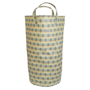 Floral Laundry Bin By Marlow Home Co.